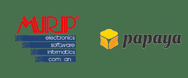 mrp, papaya logo