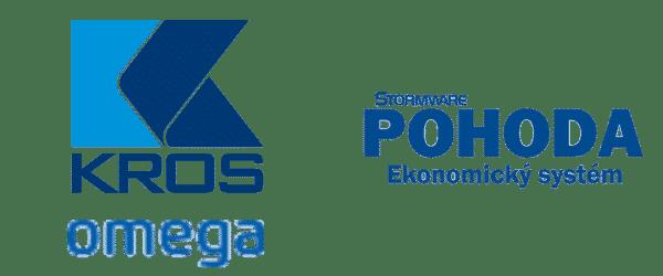 kros omega, pohoda softvér logo
