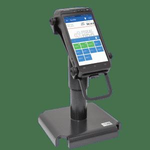 FiskalPRO A8 mobilná ekasa a platobný terminál na otočnom stojane
