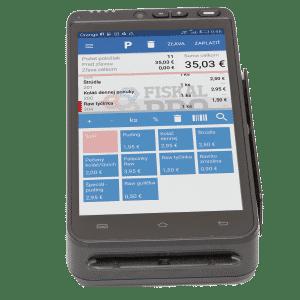 FiskalPRO A8 mobilná ekasa a platobný terminál