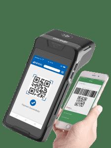 skener na N86 eKase skenuje QR kód z mobilu