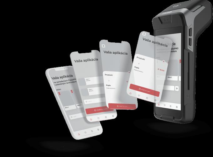 FiskalPRO zariadenie s Android aplikáciou
